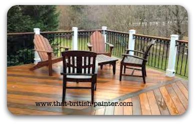 Bettendorf Iowa custom staining by That British Painter