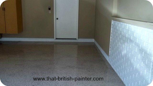 moline Illinois epoxy garage floor by darren crumbleholme
